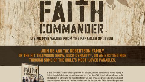 Faith Commander – A Church Curriculum from Duck Dynasty