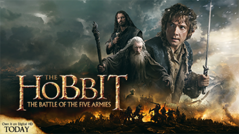 The Hobbit: The Battle of Five Armies Giveaway