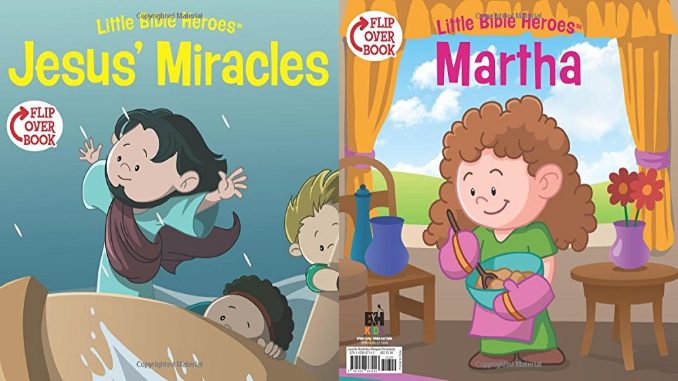 Jesus' Miracles Martha Flip Book