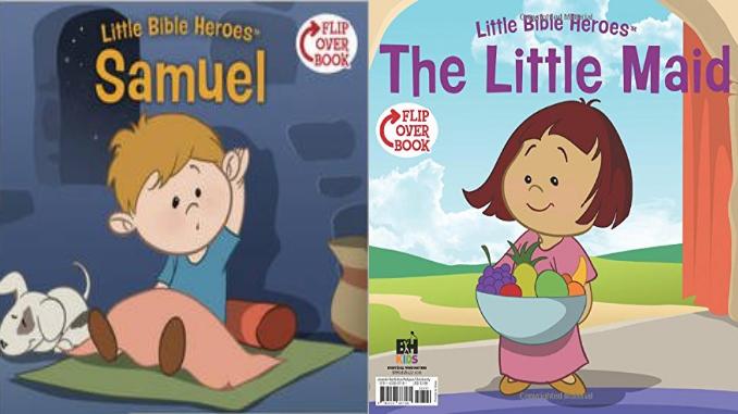 Samuel Little Maid Flip Book