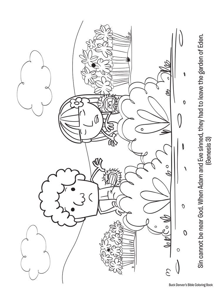 Buck Denver Bible Coloring Book Preview 02