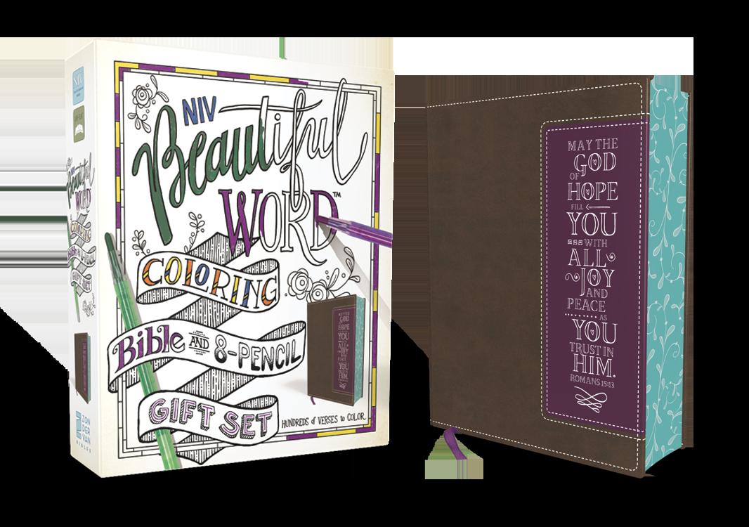 NIV Coloring Bible