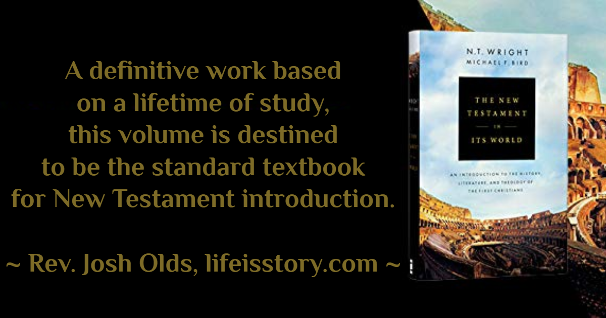 A definitive work based on a lifetime of study, this volume is destined to be the standard textbook for New Testament introduction. - Rev. Josh Olds, lifeisstory.com