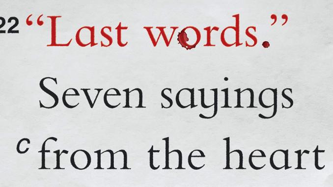Last Words Robert Nash