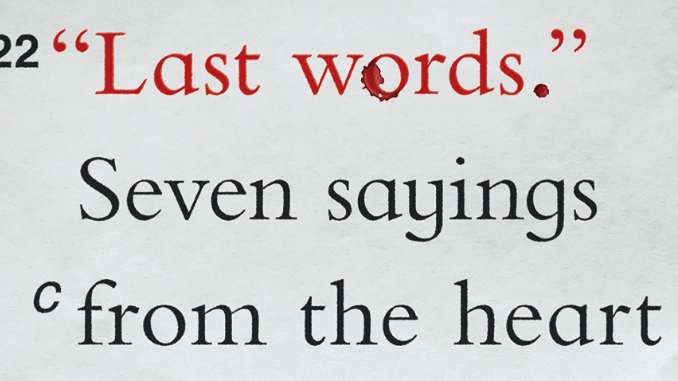 Last Words Robert Nash
