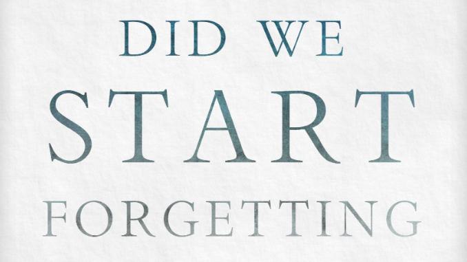 When Did We Start Forgetting God Mark Galli