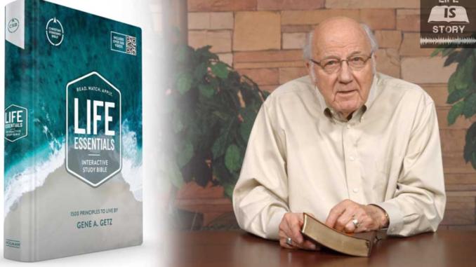 Gene Getz Life Essentials Interactive Study Bible