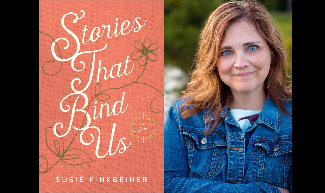 Susie Finkbeiner Stories That Bind Us Background