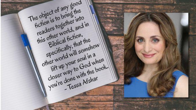 Tessa Afshar Background