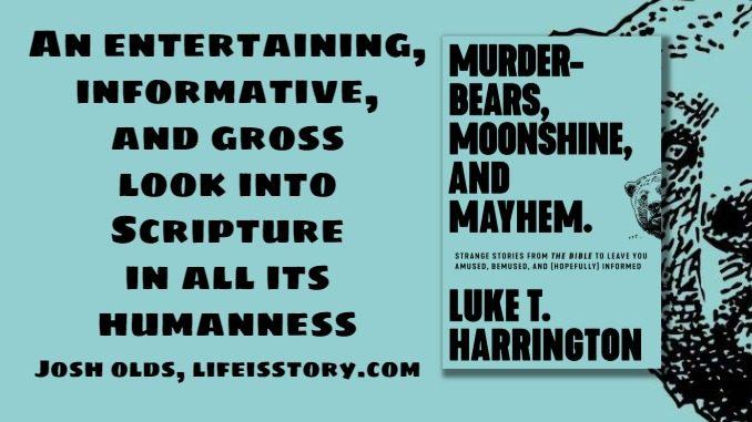 Murder-Bears Moonshine and Mayhem Luke Harrington