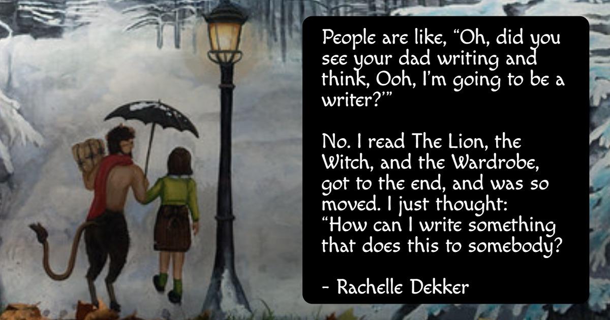 Rachelle Dekker FB quote