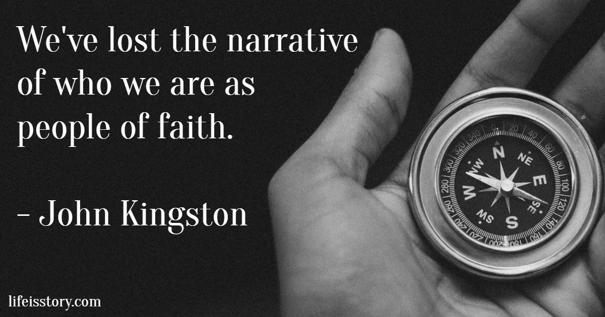 john kingston quote