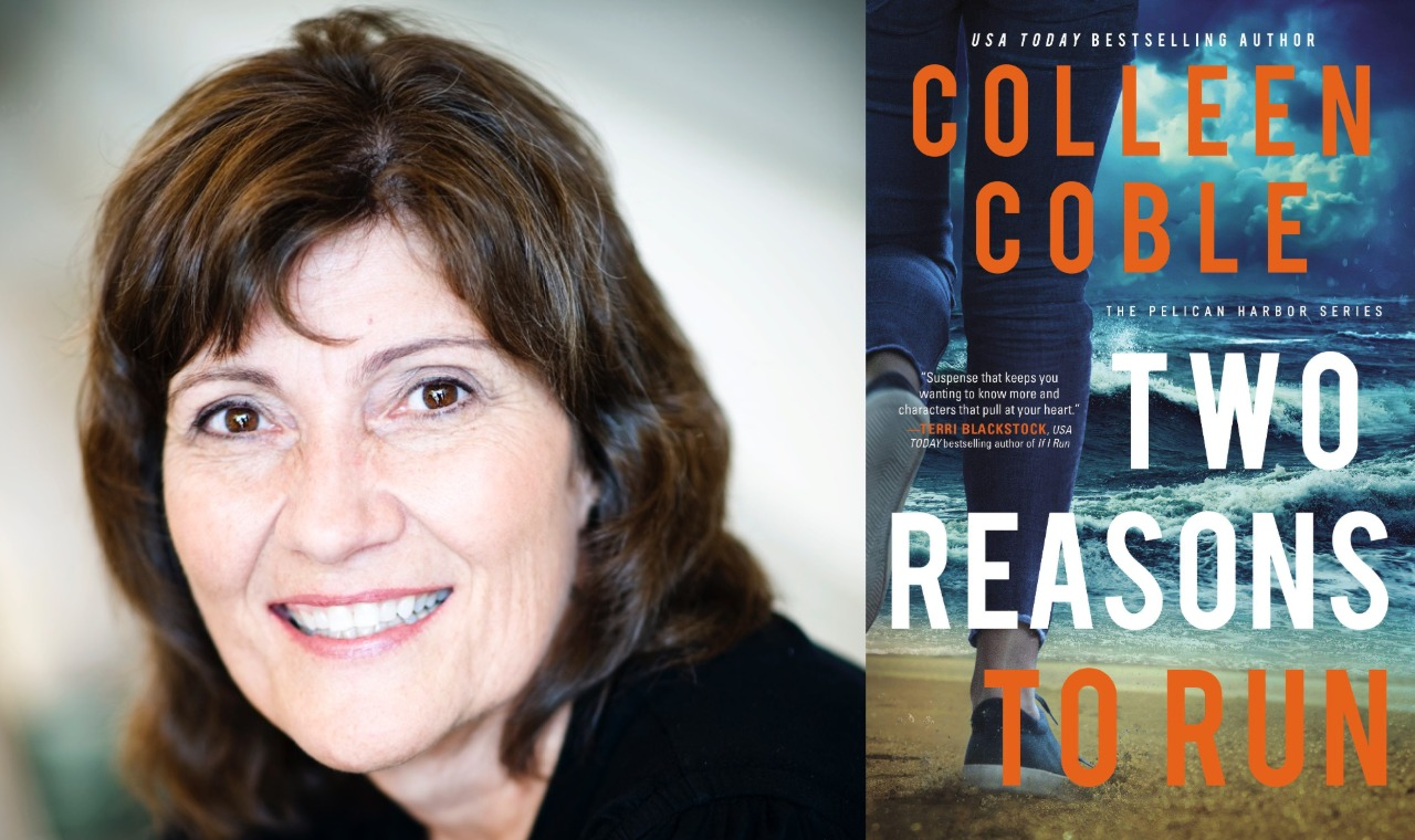 Two Reasons to Run Colleen Coble background