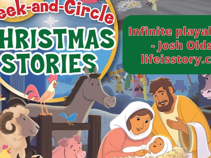 Seek and Circle Christmas Stories