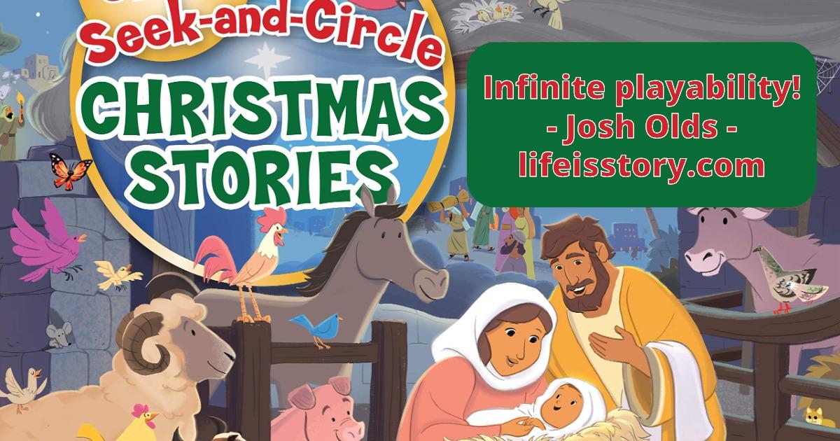 Seek and Circle Christmas Stories