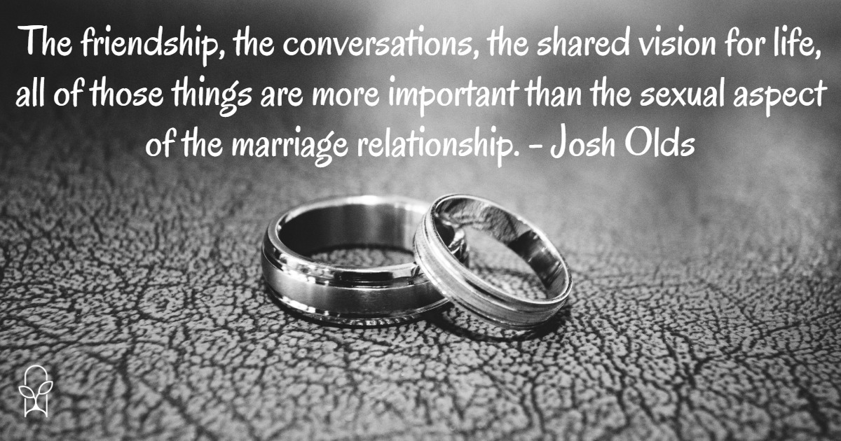 Laurie Krieg Josh Olds quote