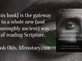 Misreading Scripture with Individualist Eyes E Randolph Richards Richard James