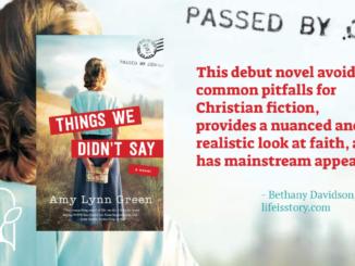 Things We Didn't Say Amy Lynn Green