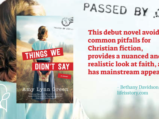Things We Didn't Say Amy Lynn Green