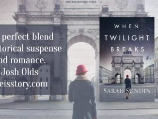 When Twilight Breaks Sarah Sundin