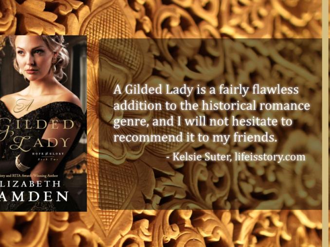 A Gilded Lady Elizabeth Camden (1)