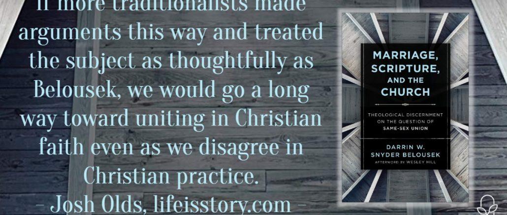 Marriage Scripture and the Church Darrin Belousek