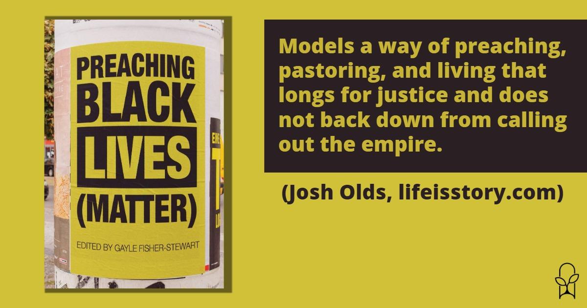Preaching Black Lives Matter ed Gayle Fisher-Stewart