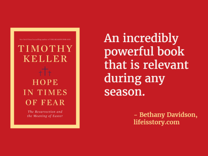 Hope in Times of Fear Timothy Keller