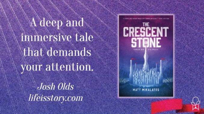 The Crescent Stone Matt Mikalatos