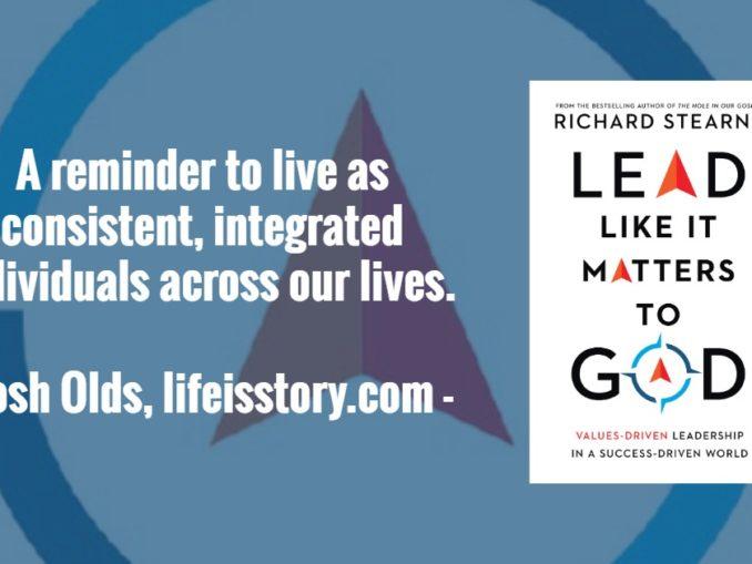 Lead Like it Matters to God Richard Sterns